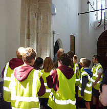Bressingham School Church Visit