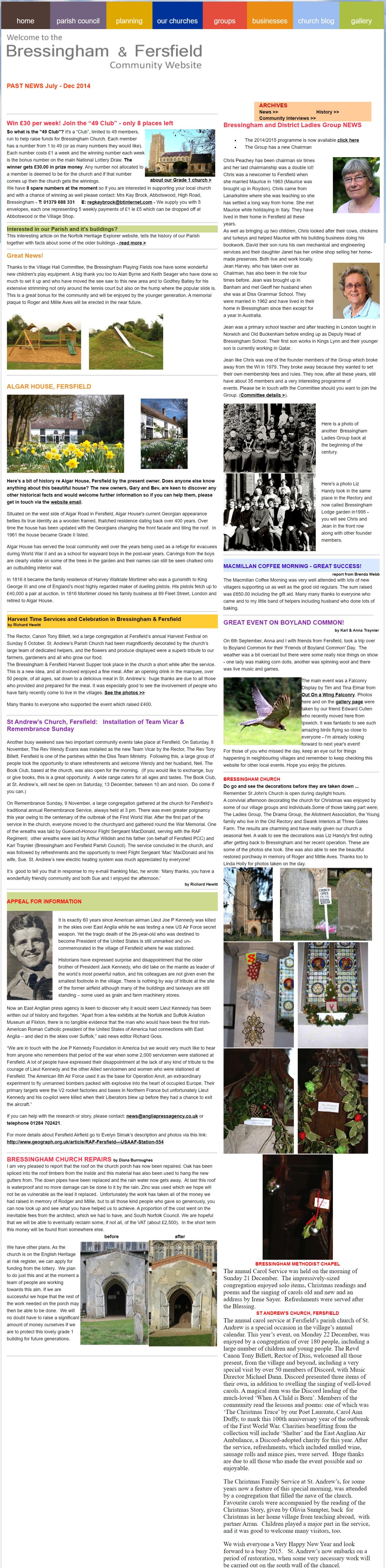 Past News Jul-Dec 2014