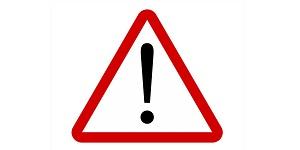 Road Warning Exclamation