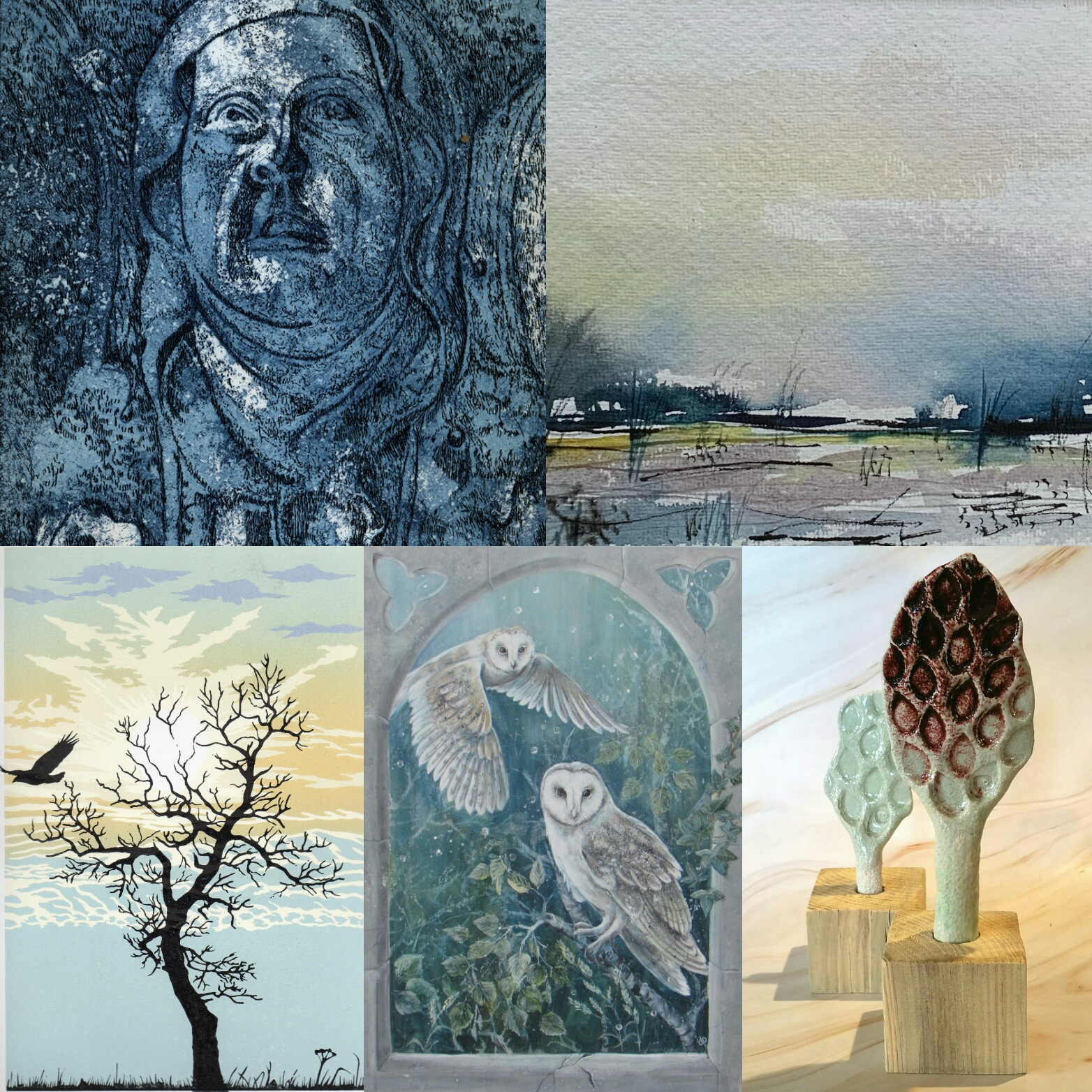 Garboldisham Arts Trail Examples